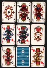 Vintage Advertising playing cards KLM airlines